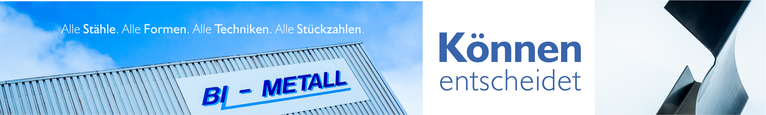 Bi-Metall | Können entscheidet | 02543 23850-0 | Billerbeck Logo